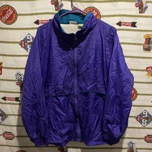 Vintage 90's Basic Editions Windbreaker Jacket L